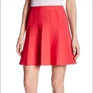 BCBGMaxazria Queeny Poppy Red Swing Skirt ❤️ NWT!